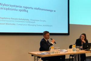 Konferencje SEG Raporty niefinansowe